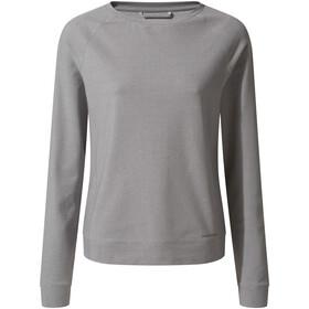 Craghoppers NosiLife Sydney Crew Shirt Dame soft grey marl